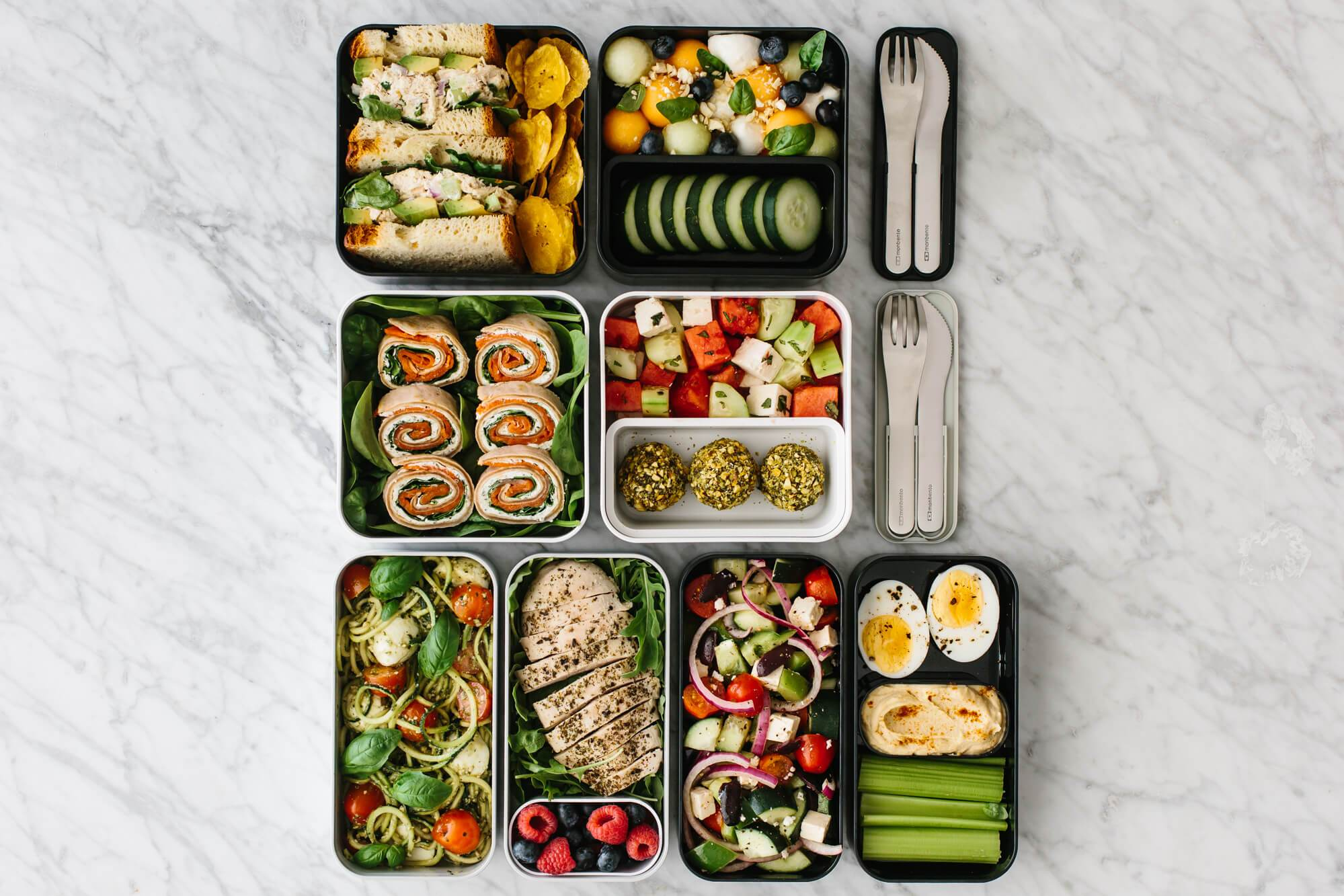 Bento Box Lunch Ideas - For Work or School  Downshiftology