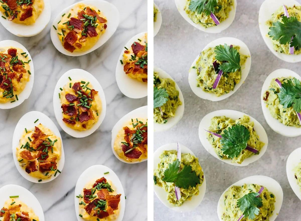 Deviled eggs for the best egg recipes.