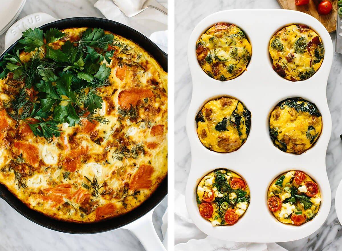Baked eggs recipes.