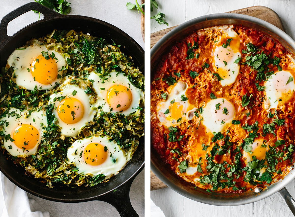Shakshuka for best egg recipes.