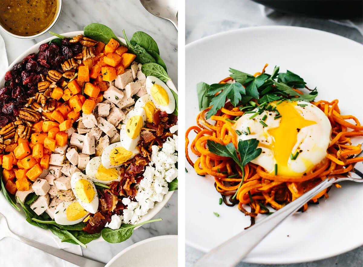 Turkey cobb salad for best egg recipes.