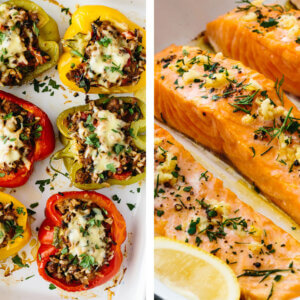 Best gluten free recipes with stuffed peppers.