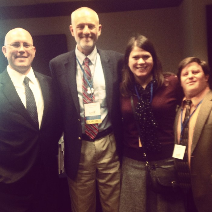 Nat'l Ctr panelists at AUCD 2014