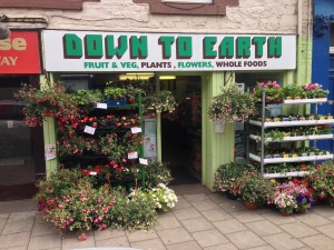 Down To Earth Selkirk Shop Front
