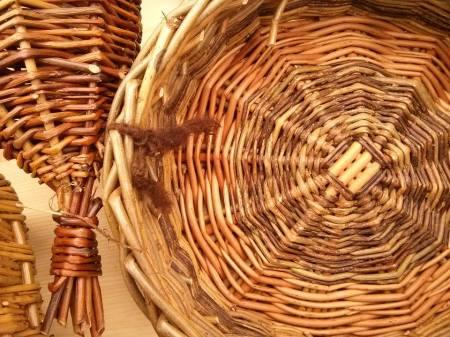 Beautiful woven baskets