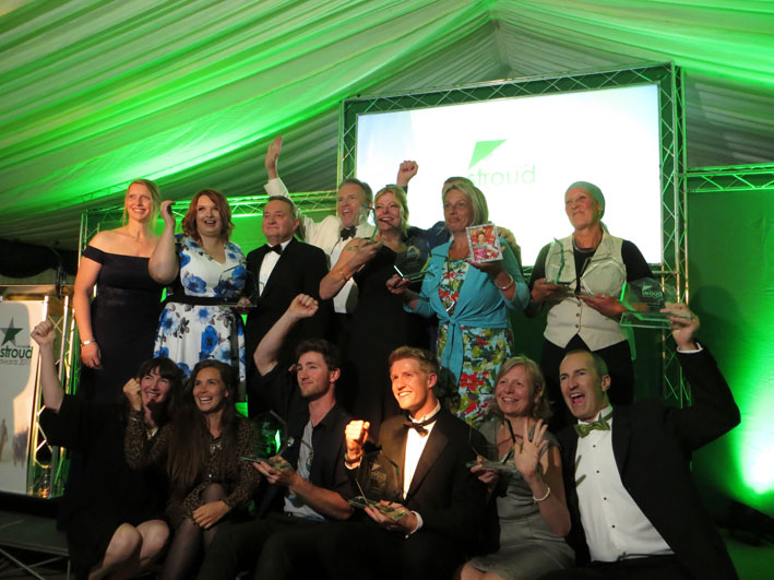 Stroud Life Business Awards winners Down to Earth Stroud