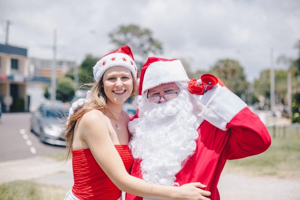 Welcome Santa to Caloundra