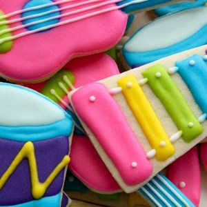 Musical Instruments Cookie Cutters