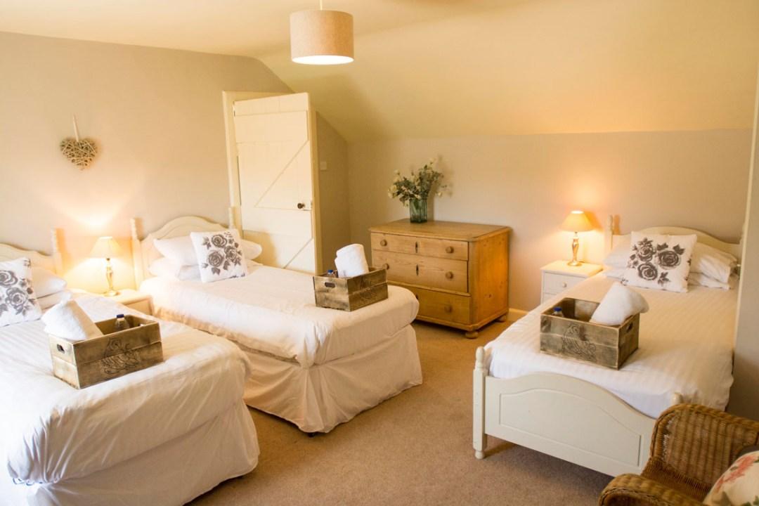 Jack Hall's Triple Bedroom