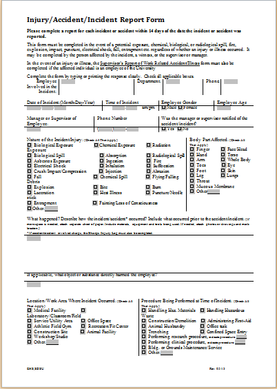 quality report template monthly business report template monthly – Patient Incident Report Form