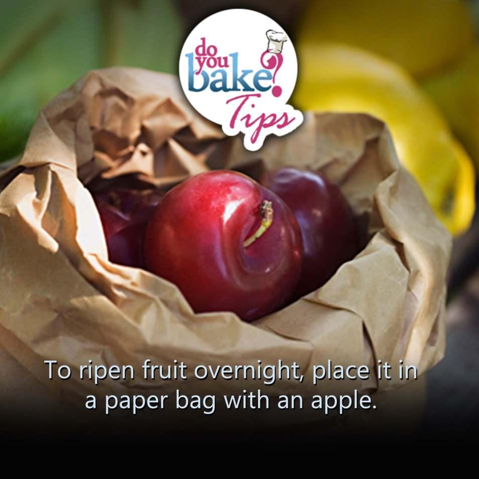 Ripen Fruit Quickly Do You Bake