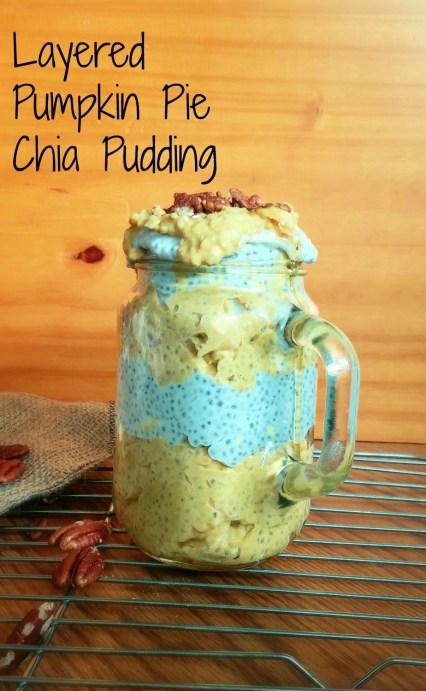 Layered Pumpkin Chia Pudding