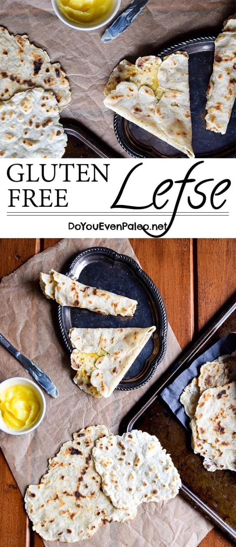 Gluten Free Lefse (Norwegian flatbread - also paleo, dairy free, nut free!) | DoYouEvenPaleo.net