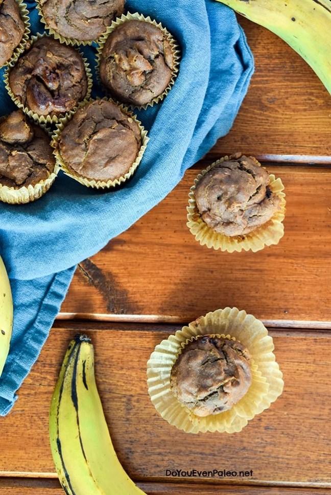 Cherry Plantain Muffins | DoYouEvenPaleo.net
