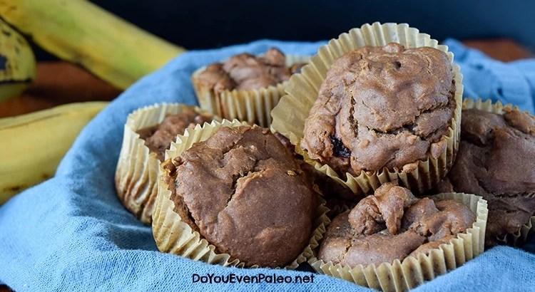 Flourless Cherry Plantain Muffins | DoYouEvenPaleo.net
