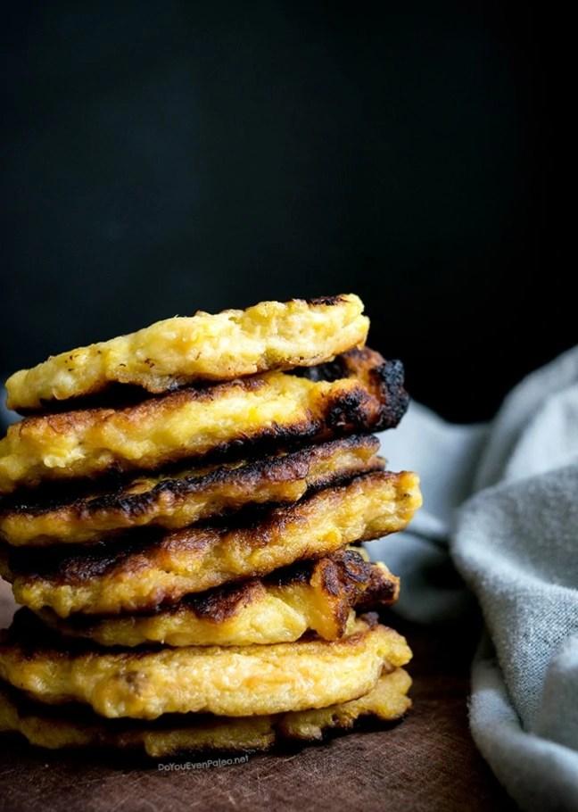 Crazy Easy Pan-Fried Plantain Patties | DoYouEvenPaleo.net