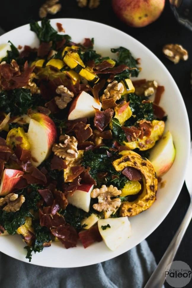 Warm Fall Harvest Salad   DoYouEvenPaleo.net