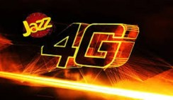 Jazz 3G/4G internet Packages