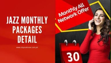 Jazz Monthly Packages