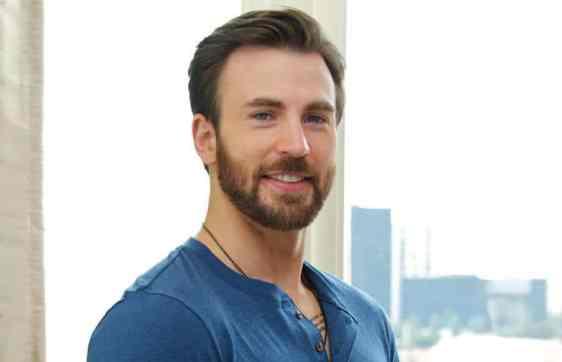"""Chris Evans, aka """"Captain America"""" (Image Credit-22 Dakika)."""