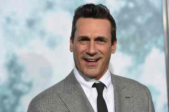 Jon Hamm is one of the world's most handsome men. (Image Credit-Las Vegas Review Journal)