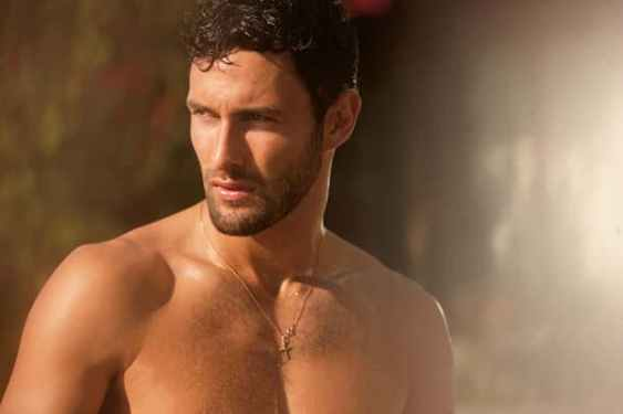 Canadian model and actor Noah Mills. (Image Credit-Behance)
