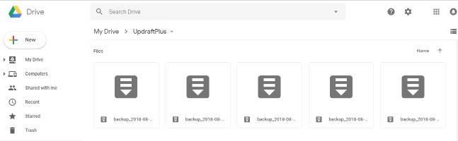 Wordpress-step-8-UpdraftPlus-validate-backup-on-google-drive