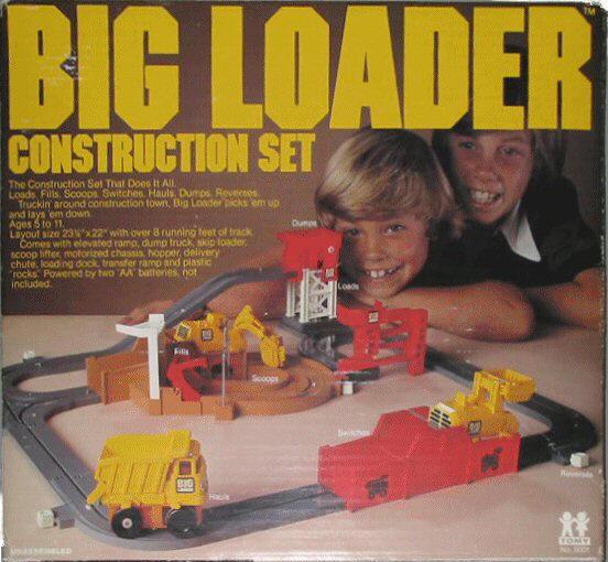Big Loader Construction Set Do You Remember