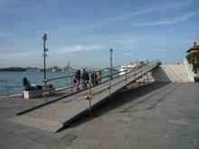 Ramps for disabled in Venice