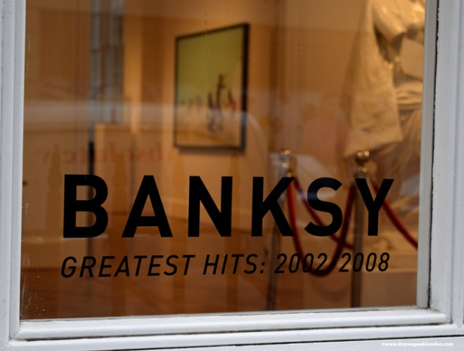 Banksy Doyouspeaklondon lifestyle blog