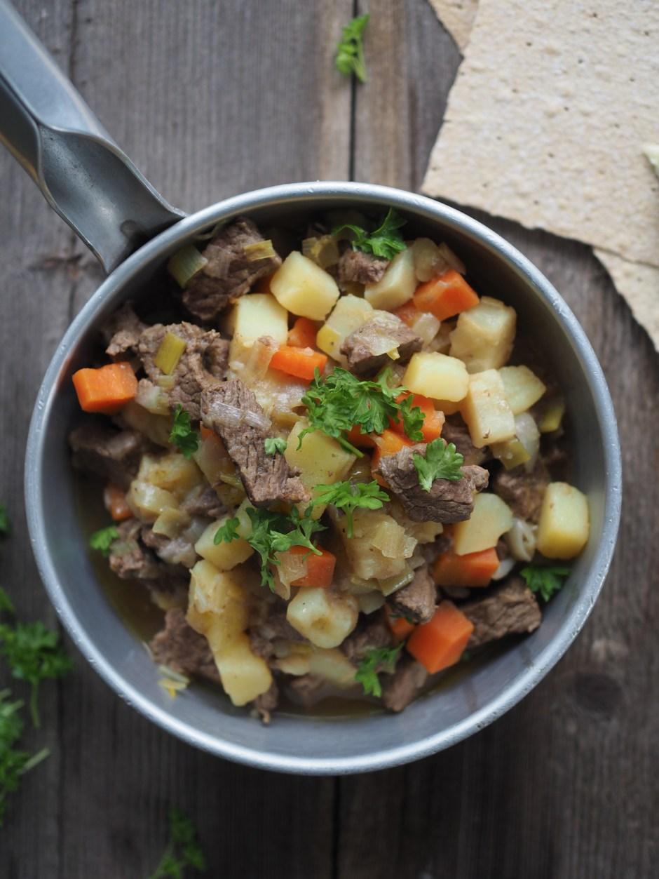 Beef and Vegetable Stew (Brun Lapskaus)
