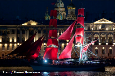 Scarlet Sails 2012 in St. Petersburg