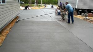 Concord NC Concrete Driveway Patio Contractors We Do It