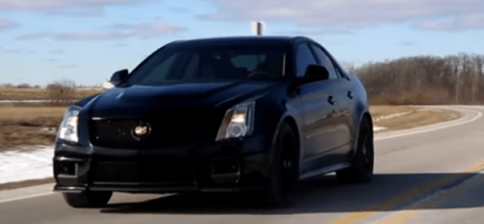 1000hp cadillac cts v exhaust sound