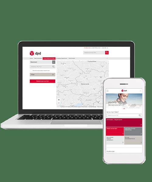 Plattform Fur Paketmanagement Mydpd At Dpd Osterreich