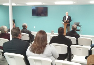 Training Center dedication service