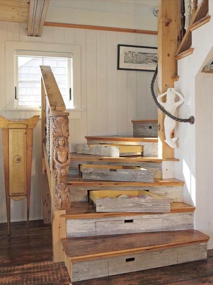 Deborah Paine Cape Cod Custom Home Builder And Residential   Cape Cod Staircase Designs   Raised Bungalow Deck   Layered   Interior   Veranda Step   Stair