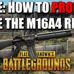【PUBG】性能は高い?ベストアタッチメントは?アサルトライフル「M16A4」を使いこなすためのガイド