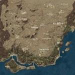 【PUBG】新マップ「砂漠」のミニマップ、さらには新武器や車両の画像が流出
