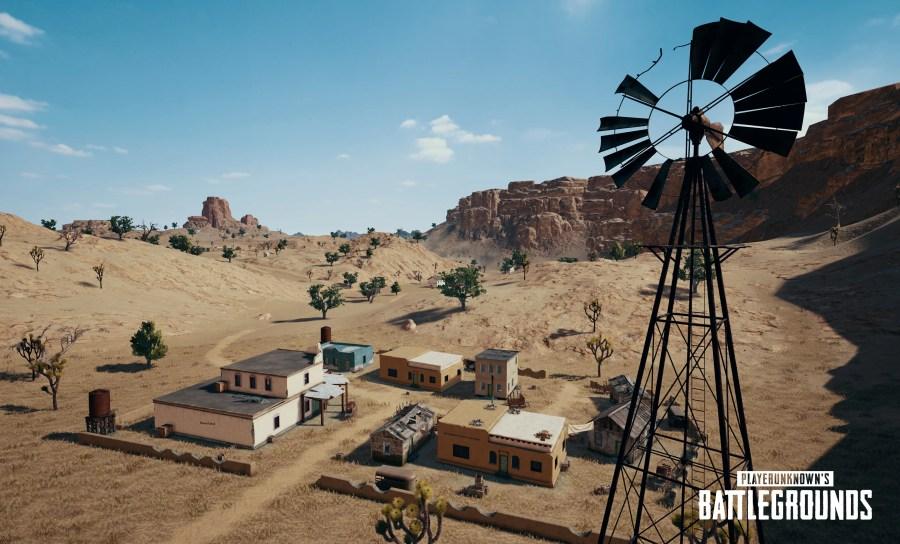 【PUBG】新砂漠マップ「Miramar」の詳細情報が公開,スクリーンショットや各都市の紹介など