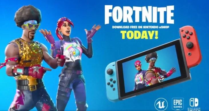 Nintendo Switch版『フォートナイト バトルロイヤル』本日より配信開始