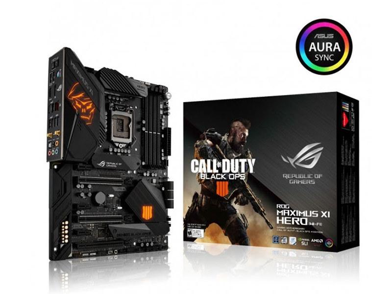 ASUS、『Call of Duty: Black Ops 4』とコラボしたマザーボード、キーボード、マウス、マウスパッドを発表。10月19日(金)より発売開始