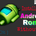 install Android ROM without PC