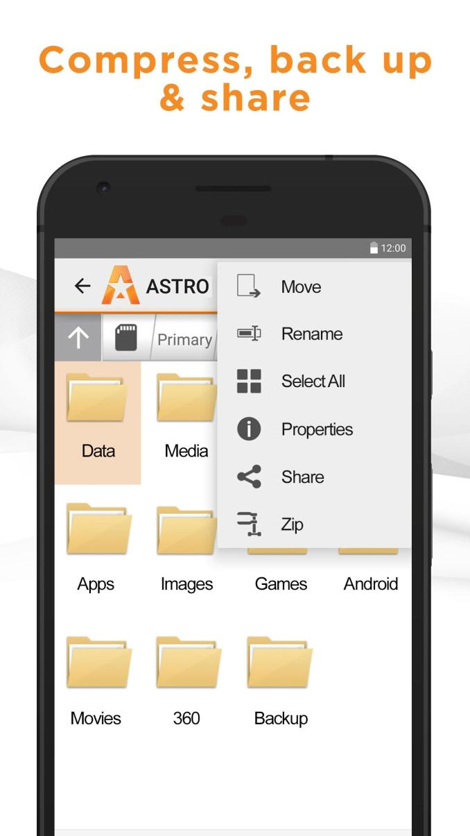Astro File Manager Major 3