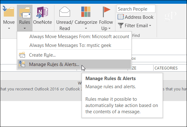 Auto Reply Outlook 3