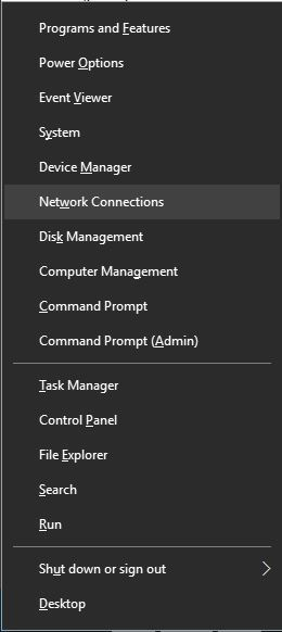 Wi-Fi doesn't have valid IP configuration 4