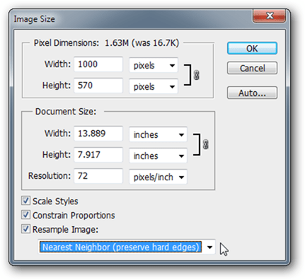 how to increase resolution of image 14