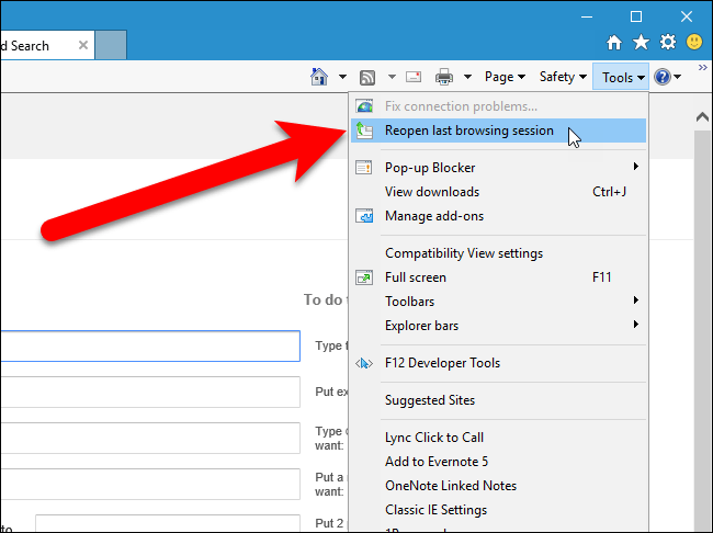 how to open closed tabs 15