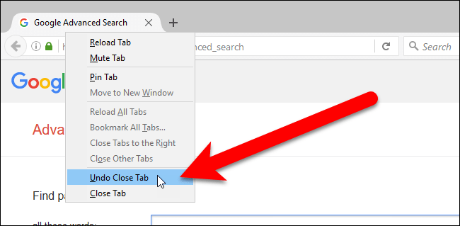 how to open closed tabs 3