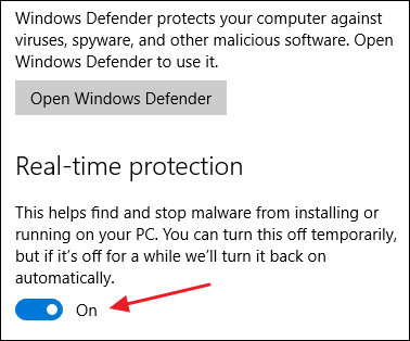How to Disable Windows Defender 4